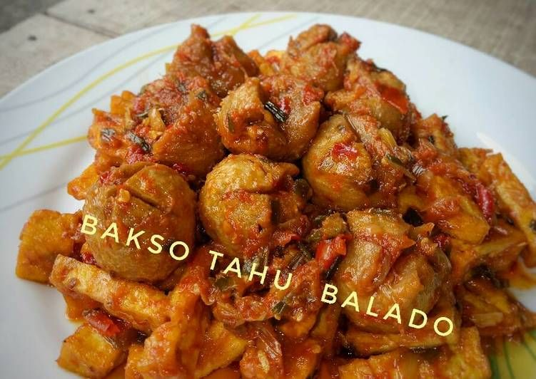 Resep Bakso Tahu Balado Pr Recookolahanbakso Oleh Lialialia Resep Resep Masakan Bakso Makanan Enak