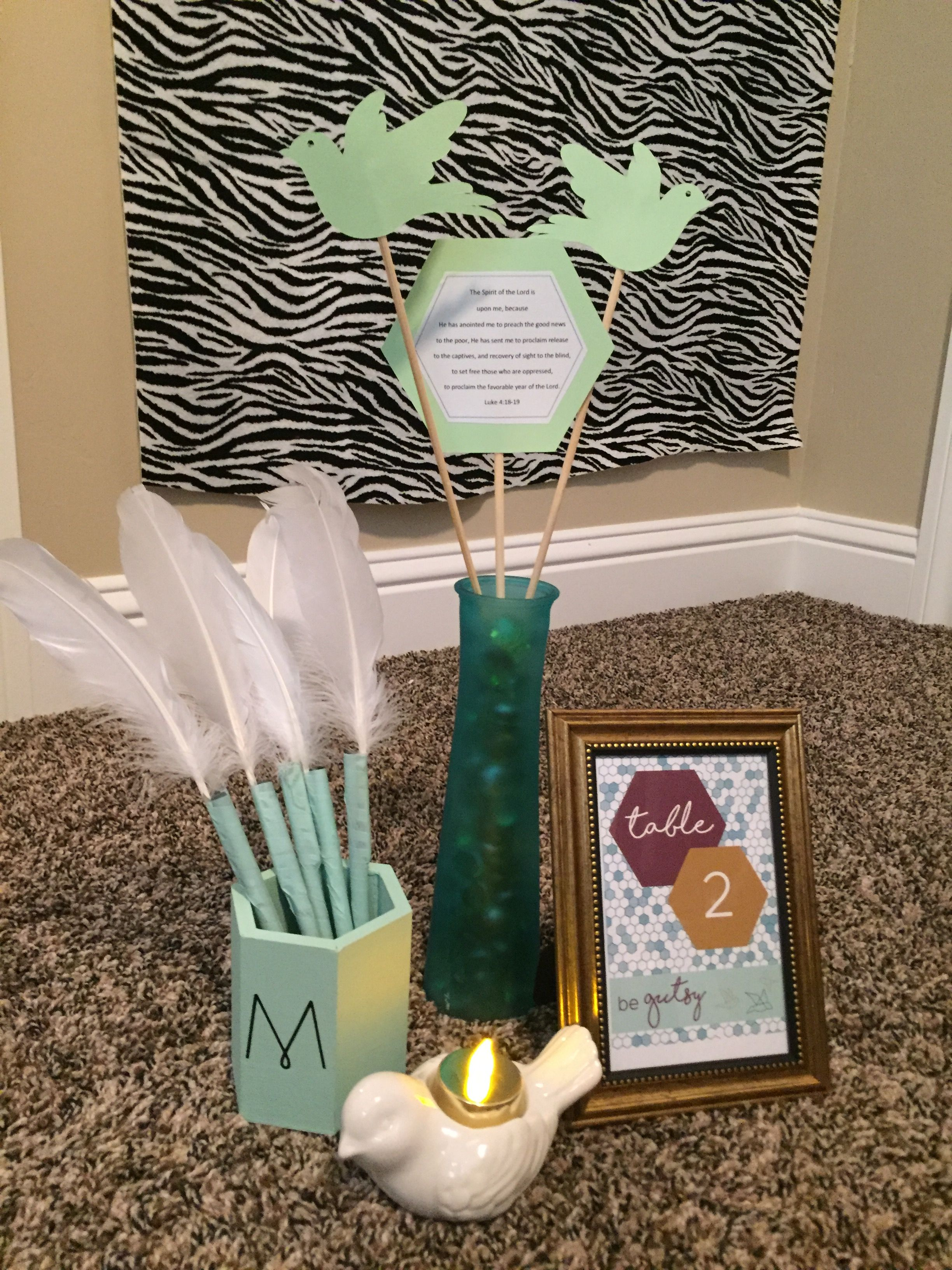Mops Table Centerpieces Free Indeed Theme 2017 2018 Mops Theme