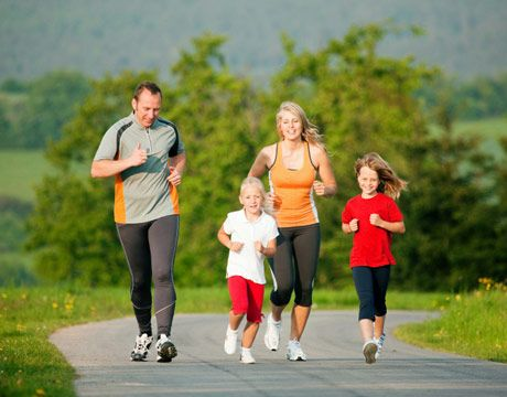 Healthy Family Lifestyle Family Fitness Exercise For Kids Fitness Tips