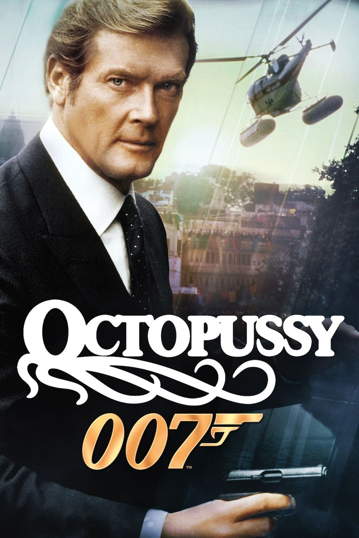 "Roger Moore as 007 in ""Otopussy"" 1983   James bond movie"
