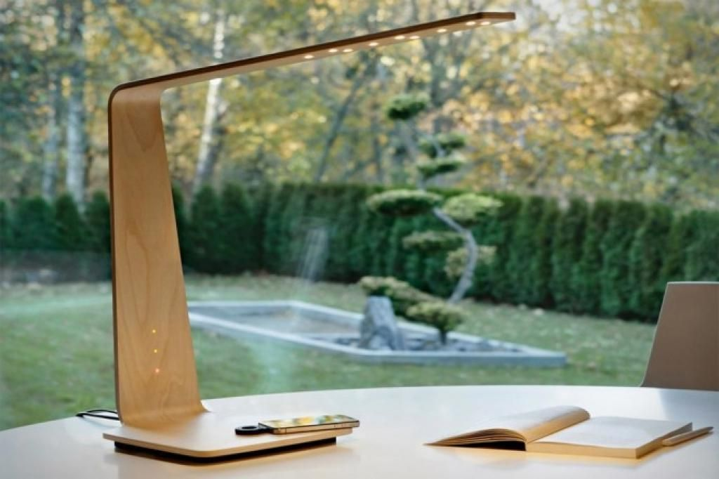 Unique And Smart Wooden Desk Lamp With Phone Charger Very Fungtionable And Clever Jpeg 1024 682