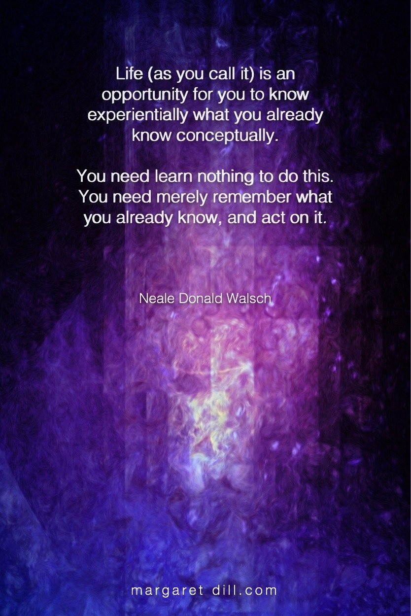 Life-Neale Donald Walsch - blogger of inspirational quotes & design for dreamers store