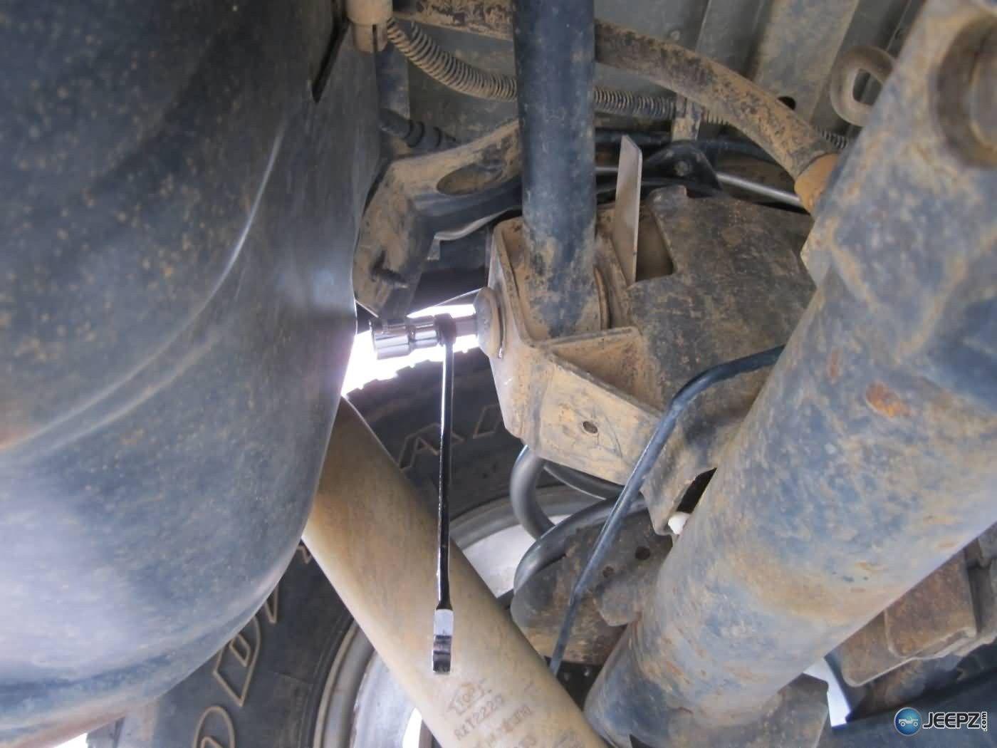 Great Jeep Tj Rear Track Bar Install