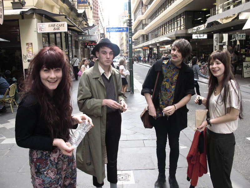 Melbourne street style.