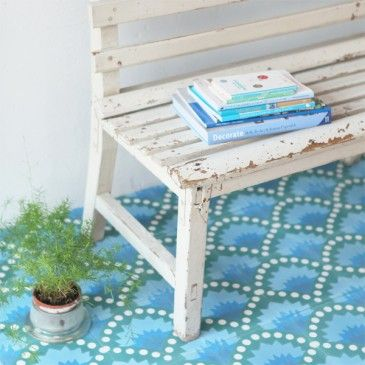 Carreaux De Ciment Petit Pan Aqua Mint Pinterest