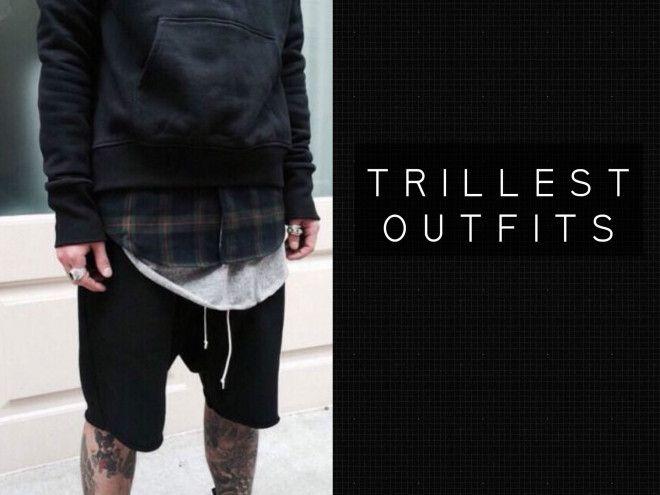 Hombres Trillest outfits para ti. Outfits urbanos para hombres