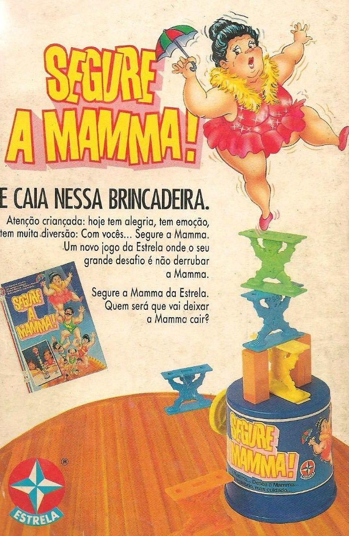 Jogo Segure A Mamma! #nostalgia