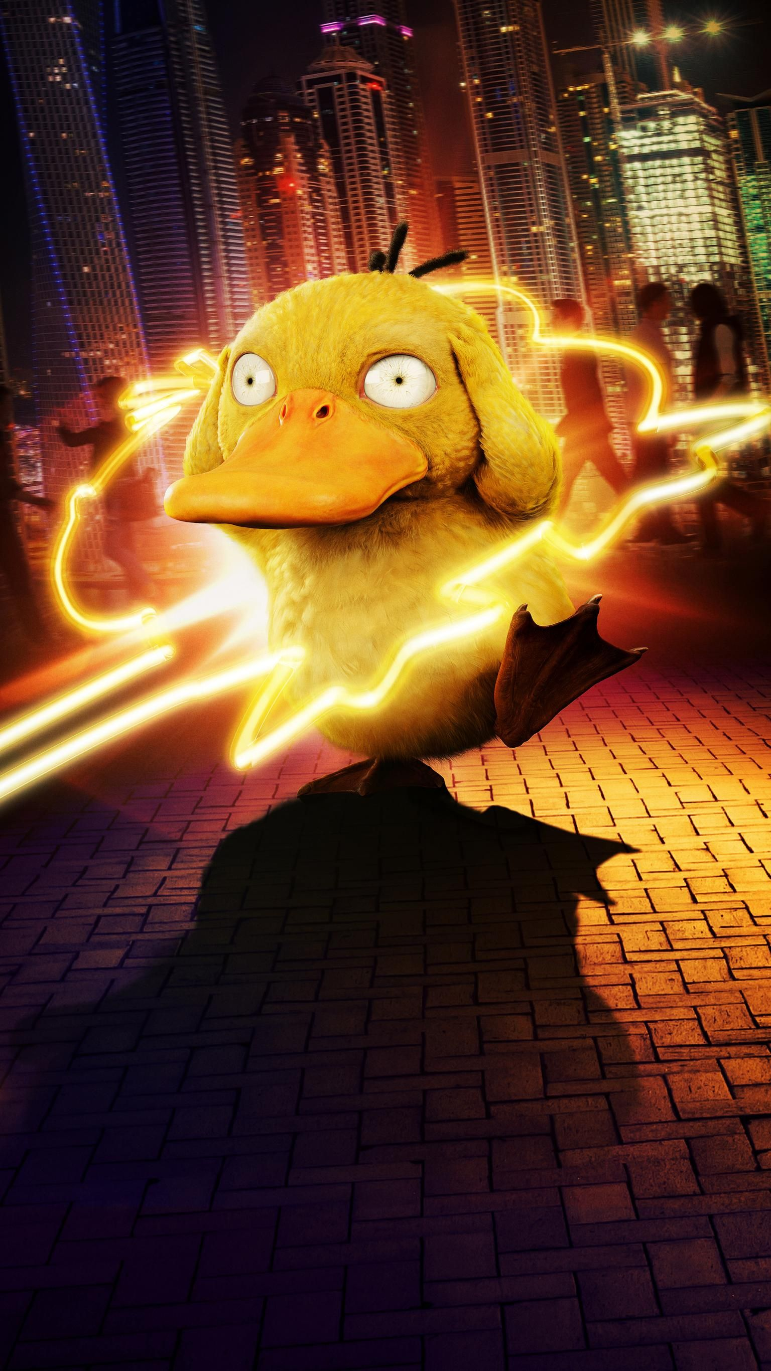 Pokémon Detective Pikachu (2019) Phone Wallpaper Cute