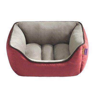 Reversible Rectangular Cuddler Dog Bed Color Chili Taupe By Halo Pets Http Www Amazon Com Dp B005kspf98 Ref Cm Sw Dog Bed Bolster Dog Bed Designer Pet Beds