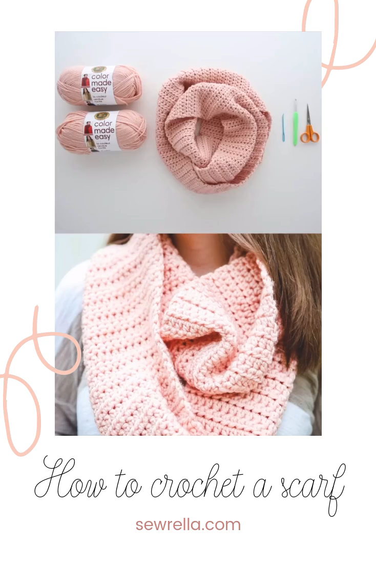 Photo of How to Crochet a Scarf – free pattern & video tutorial