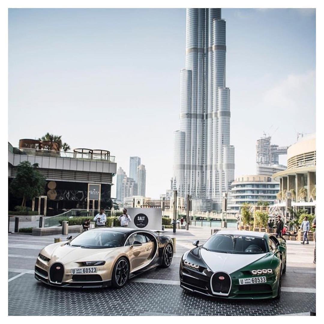 Bugattis In Dubai #His & #Hers Via @millionaireswealth