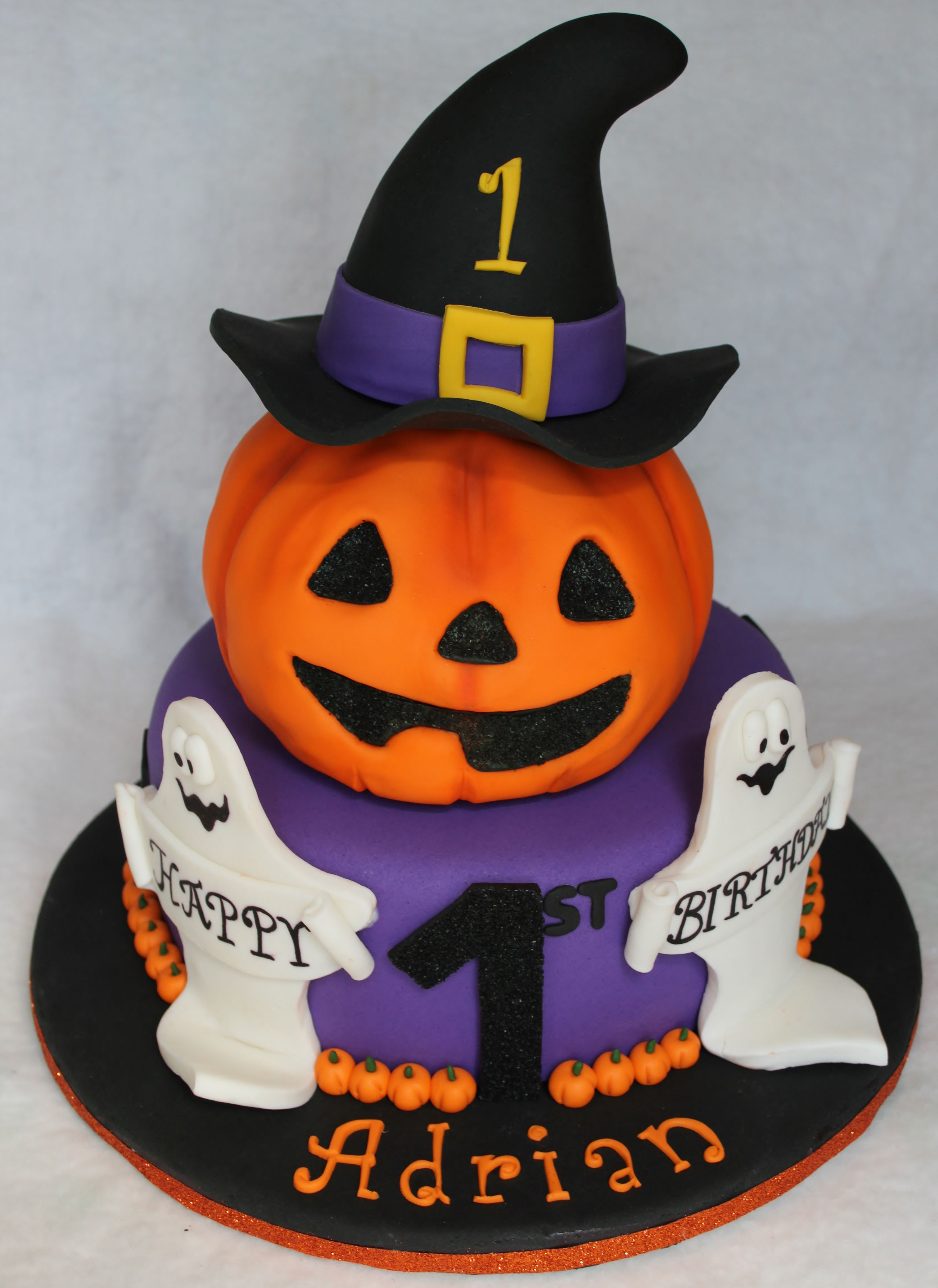 Halloween Birthday Cake Dolce Ladybug Bradeys Birthday