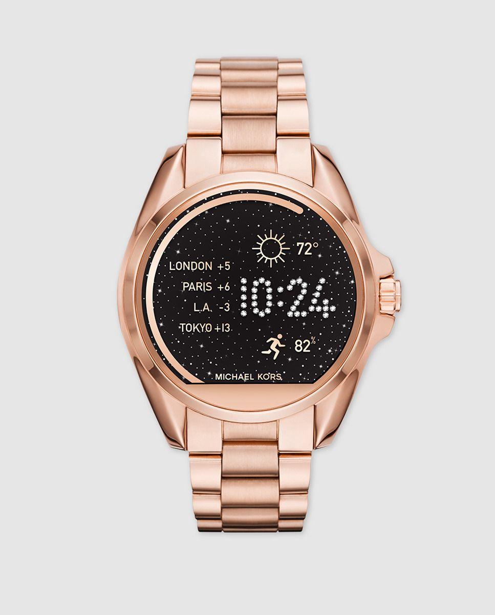 6ecbed08a014 Reloj inteligente Smartwatch Michael Kors MKT5004 Bradshaw  reloj   michaelkors  mujer  michaelkorsperu  peru