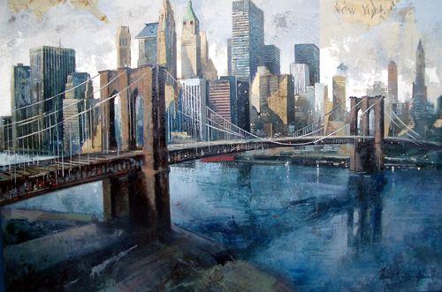 Brooklyn Bridge - Marti Bofarull #paisajeurbano