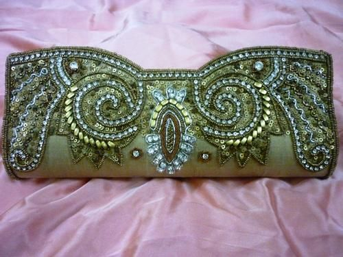 Wedding Bridal Clutch Purse Handbag Bag