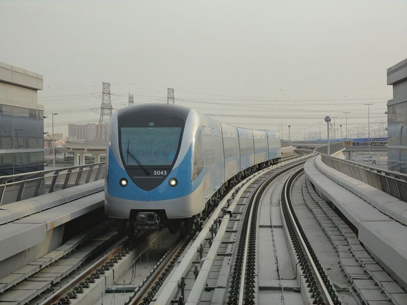 The Dubai Metro is a driverless, fully automated metro rail network in the United Arab Emirates city of Dubai. The Red Line and Green Line are operational, with three further lines planned.