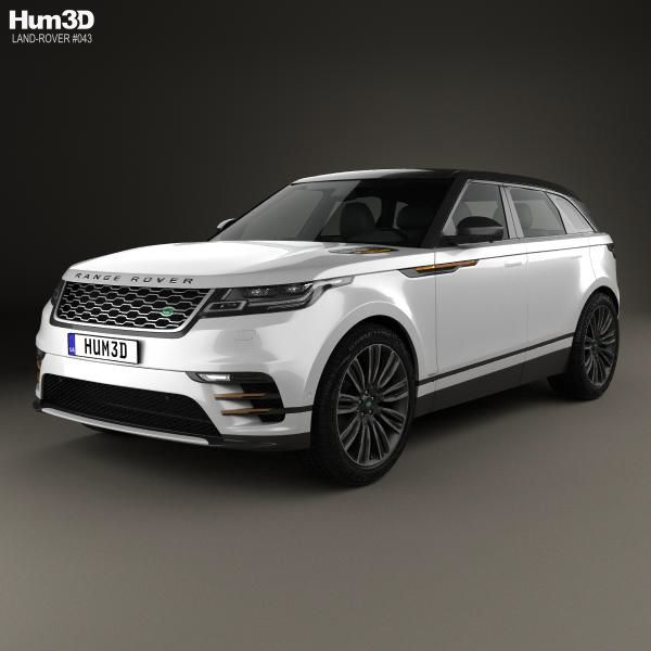 Land Rover Range Rover Velar 2018 3d Model From Hum3d.com
