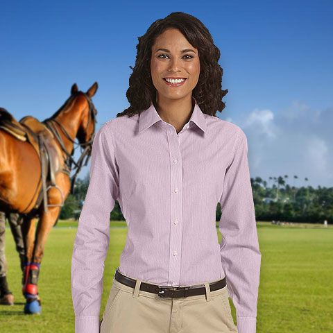 0be0ff5a891 Chestnut Hill Ladies  Executive Performance Broadcloth-CH600W ...