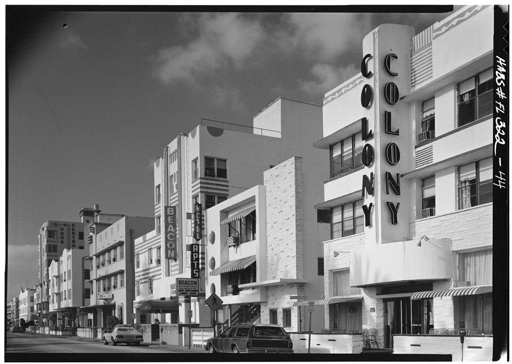 1980 Miami Beach before Miami Vice made South Beach hot