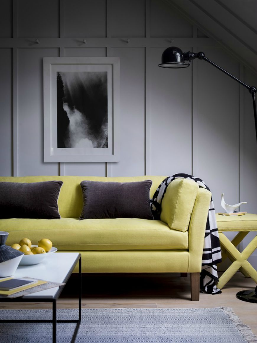 25 reasons to consider a yellow sofa for your living room