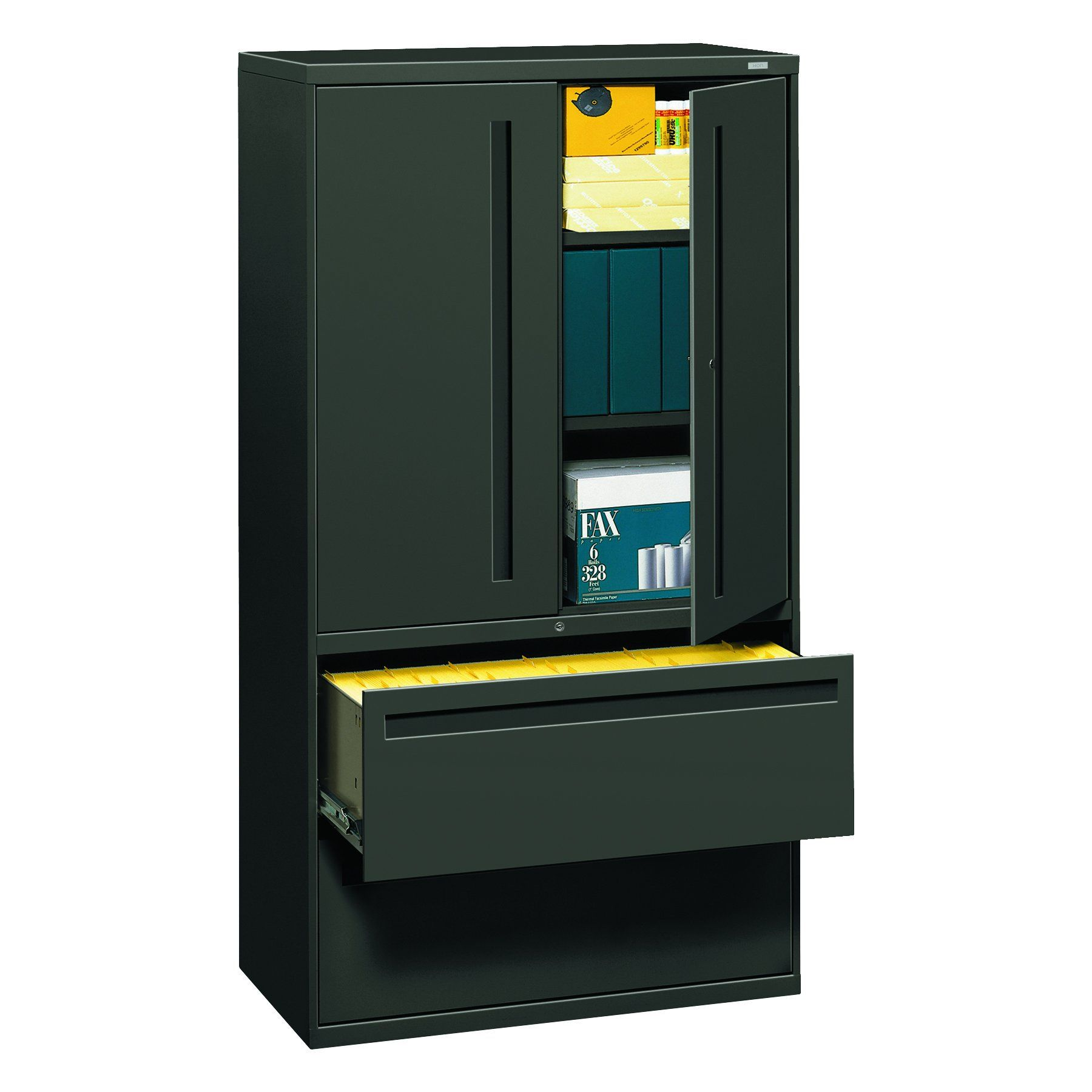 HON 785LSS 700 Series Lateral File w Storage Cabinet 36w x 19 1 4d
