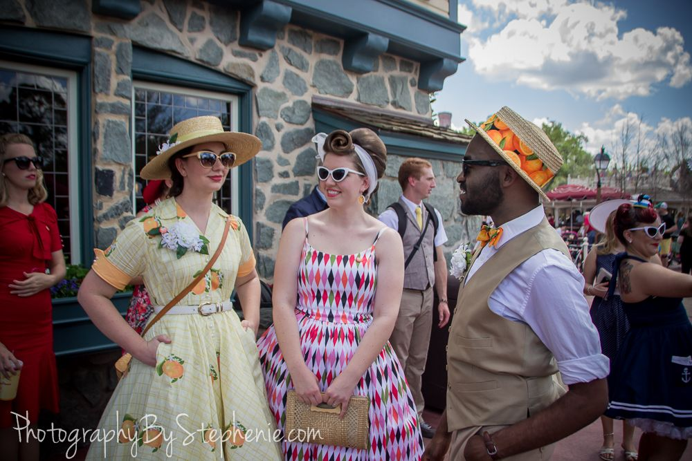 http://PhotographyByStephenie.com is the official photographer for the Dapper Day Events in California & Florida