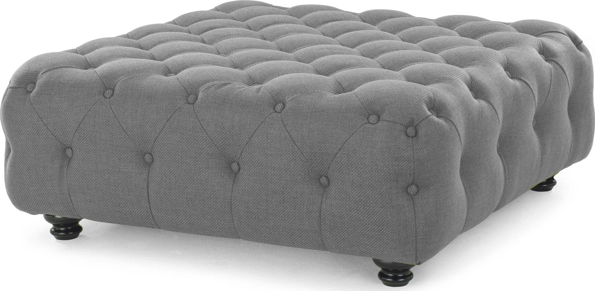 made large ottoman pearl grey express delivery upholstered