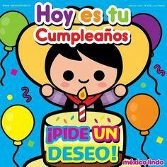 ¡Hoy es tu cumpleaños!