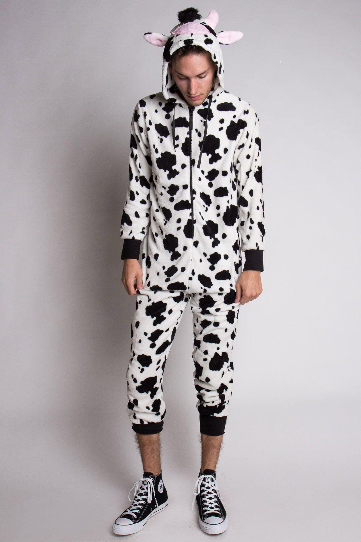 25dcc80cc6b Mooooo Says the cow! Cow Onesie Pajamas -  29.99