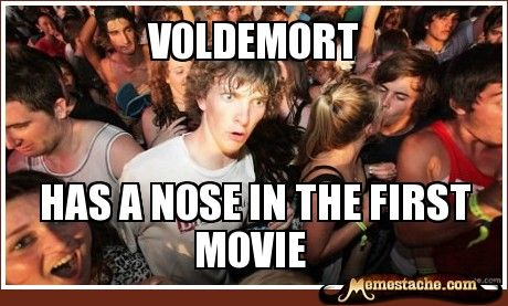 Sudden Clarity Clarence: voldemort...