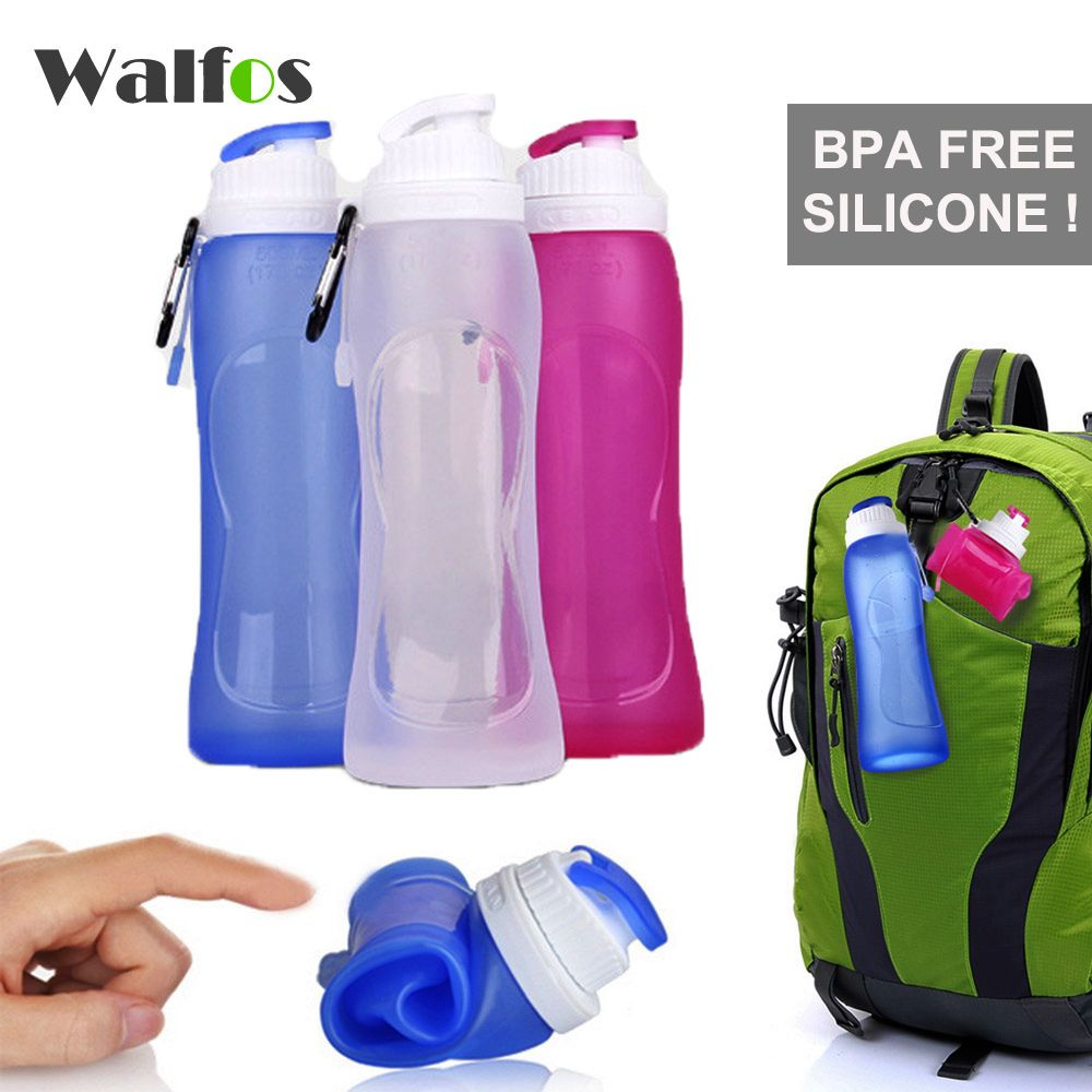 WALFOS Food Grade 500ML Creative Collapsible Foldable