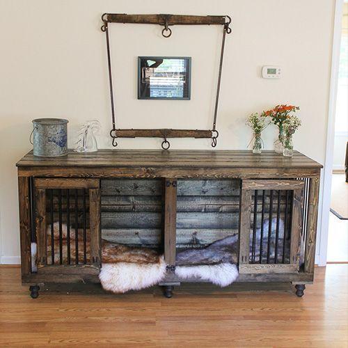 Dog Crate Furniture Wooden Kennels, Dog Crate Wooden Furniture