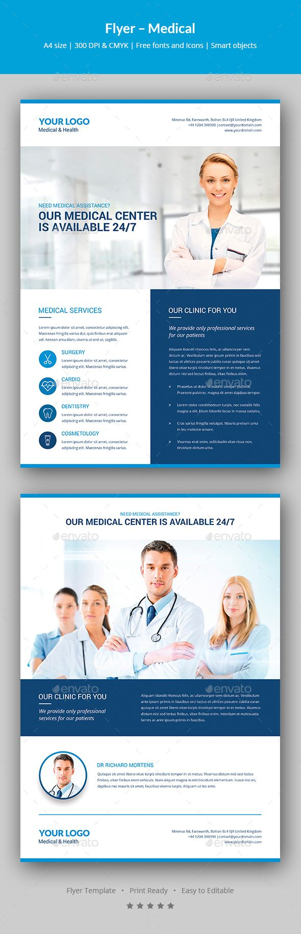Flyer Medical Medical Flyer Template And Template