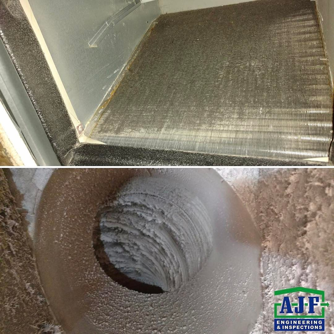 Inspector tip if your return duct and air conditioning