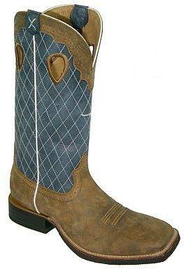 0c036b229d8 Mens Blue/Bomber Twisted X Ruff Stock Boots | Mens Twisted X Boots ...