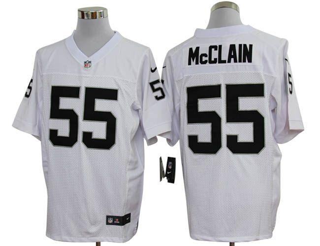 1ed504b1 Rolando McClain Elite Jersey: Nike Elite Nike NFL #55 Oakland ...