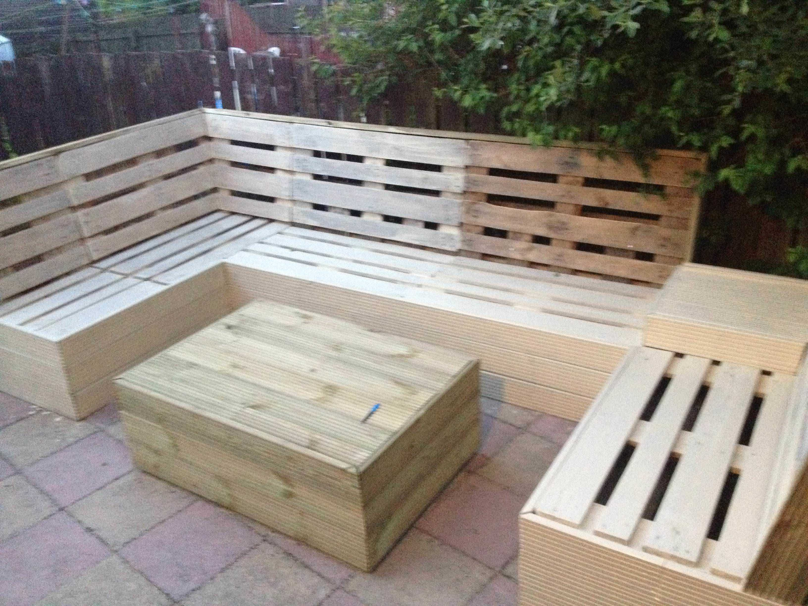 Patio Pallet Furniture Pallets Garden &