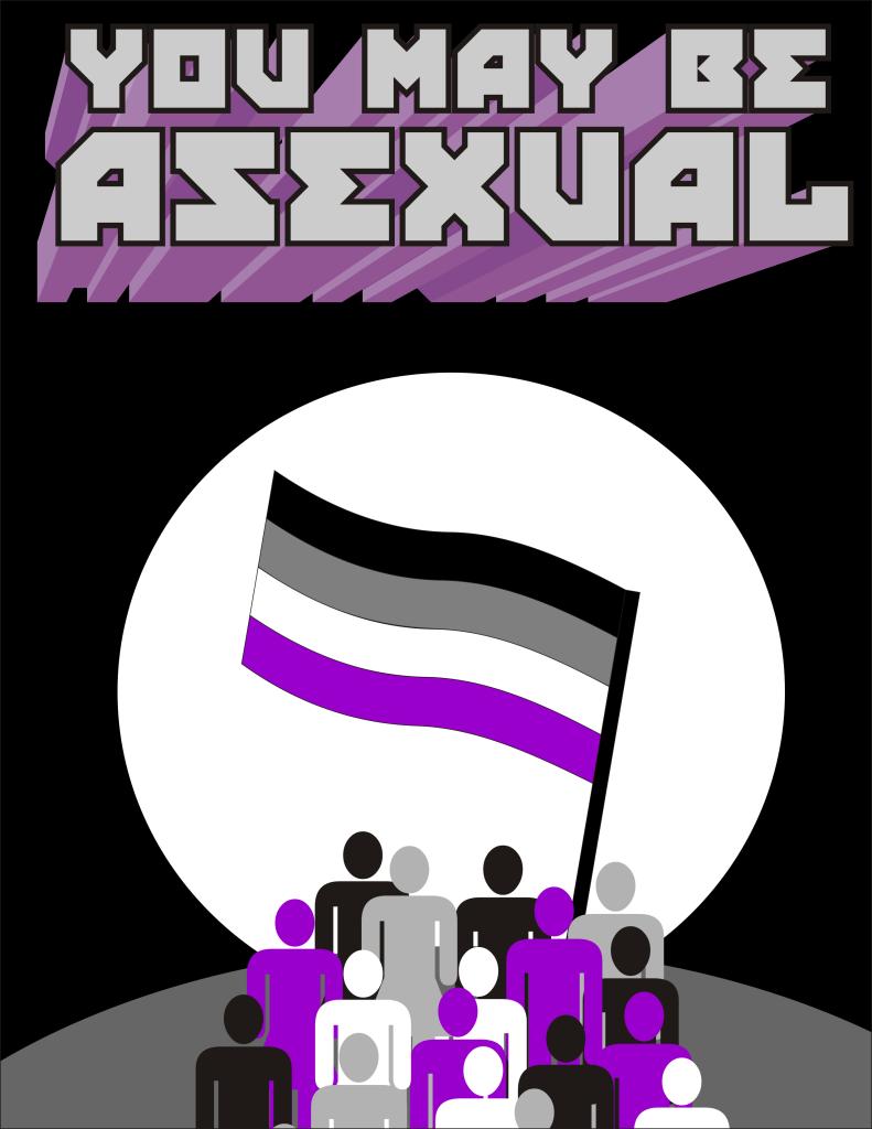 Asexual propaganda poster