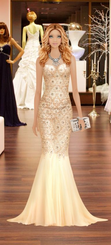 Fashion Game- Shopping for Red Carpet Gown | Covet Fashion ...