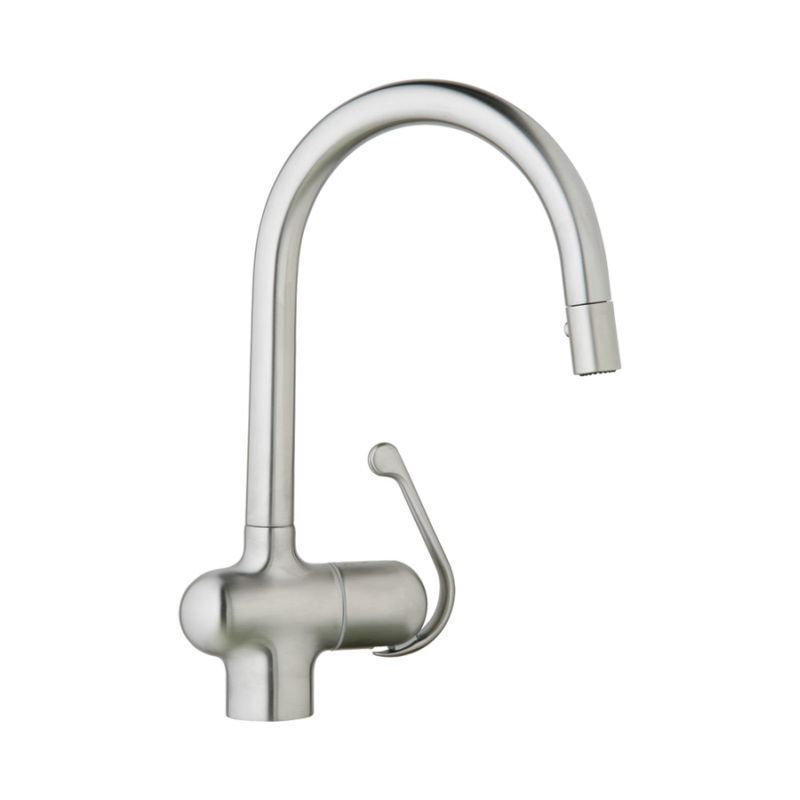 Grohe 32245SD0 Brushed Stainless Steel Ladylux Pro Single Lever ...