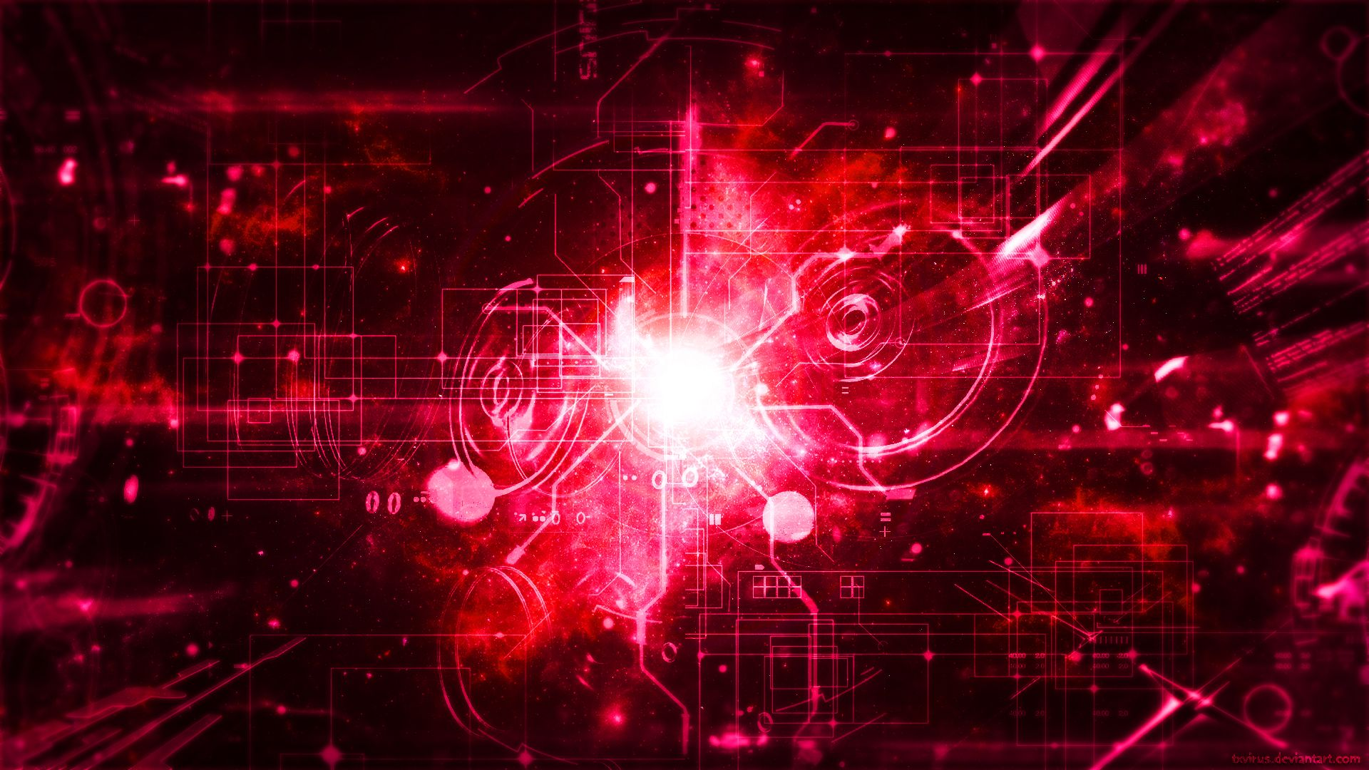 Techno galaxy red lover by txvirusyoutube channel art - Red galaxy wallpaper ...
