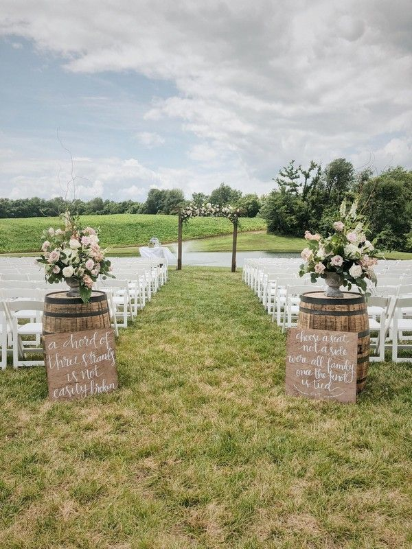 Top 20 Rustic Country Wine Barrel Wedding Ideas