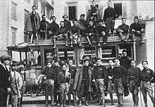 La Squadra d'azione di Lucca nel 1922