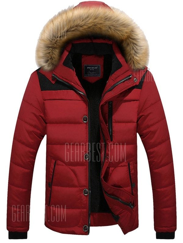 36a470d8b5 Winter Trend Men Cotton Jacket in 2019 | Mens fashion | Winter ...