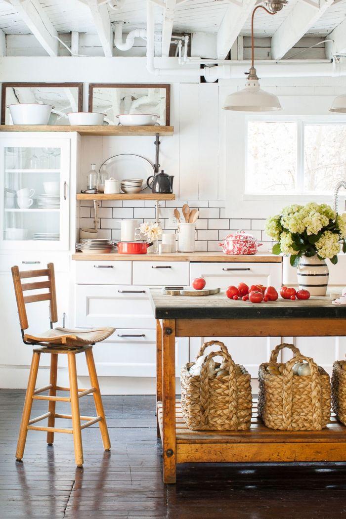 Cocinas americanas techo estilo industrial muebles de for Muebles de cocina estilo industrial