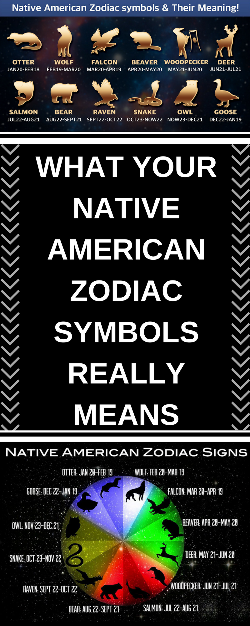 What Your Native American Zodiac Symbols Really Means Interesting