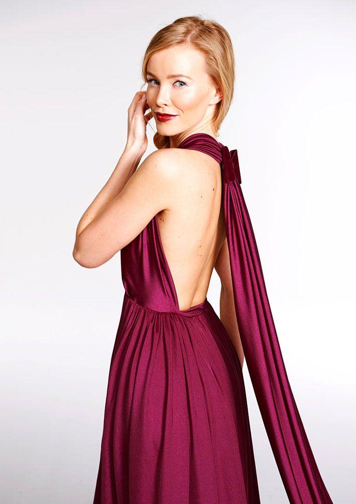 Kleid selber wickeln
