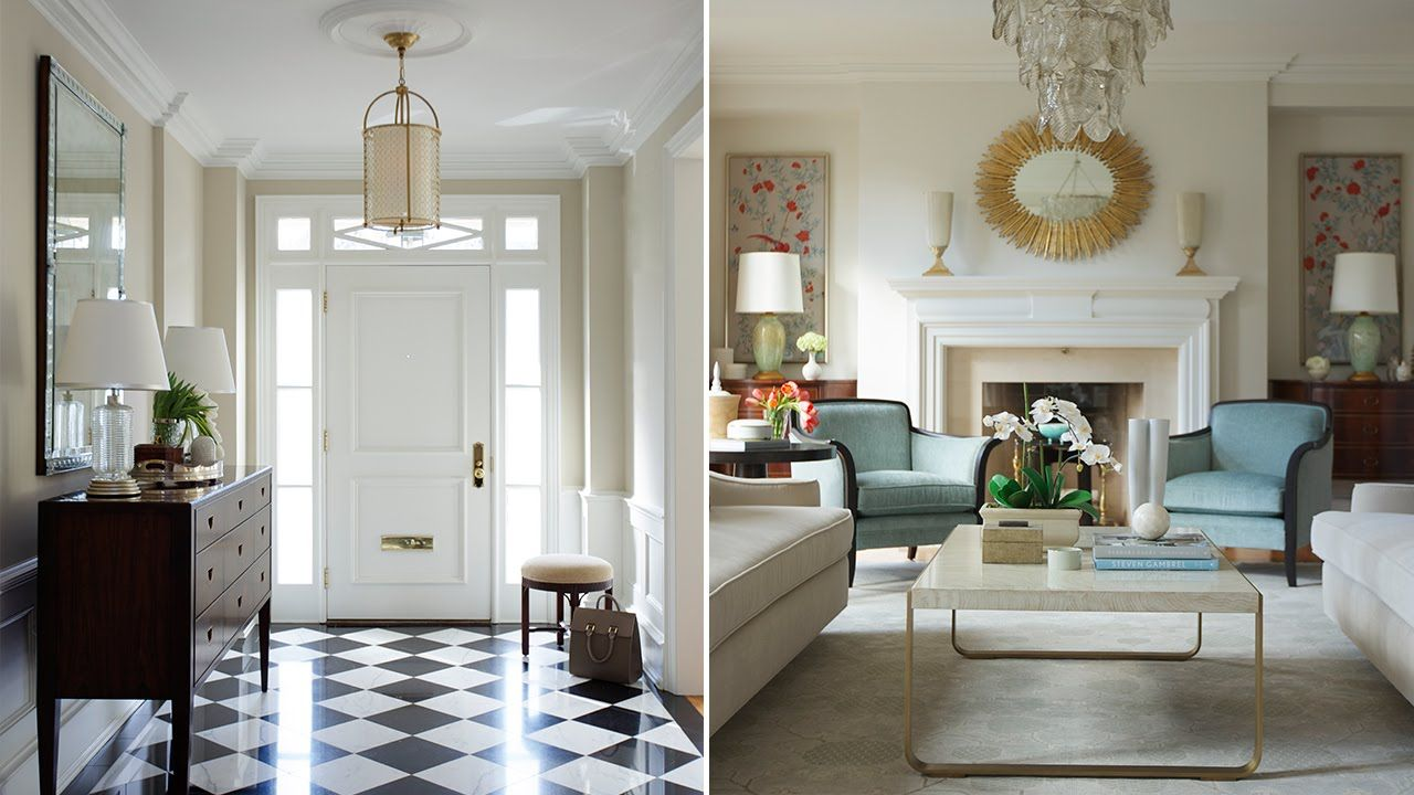 Interior Design – A Traditional Living Room With 1930s Glamor ...