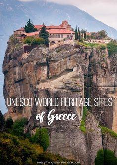 UNESCO World Heritage Sites in Greece - #Greece #Heritage #In #sites #UNESCO #World