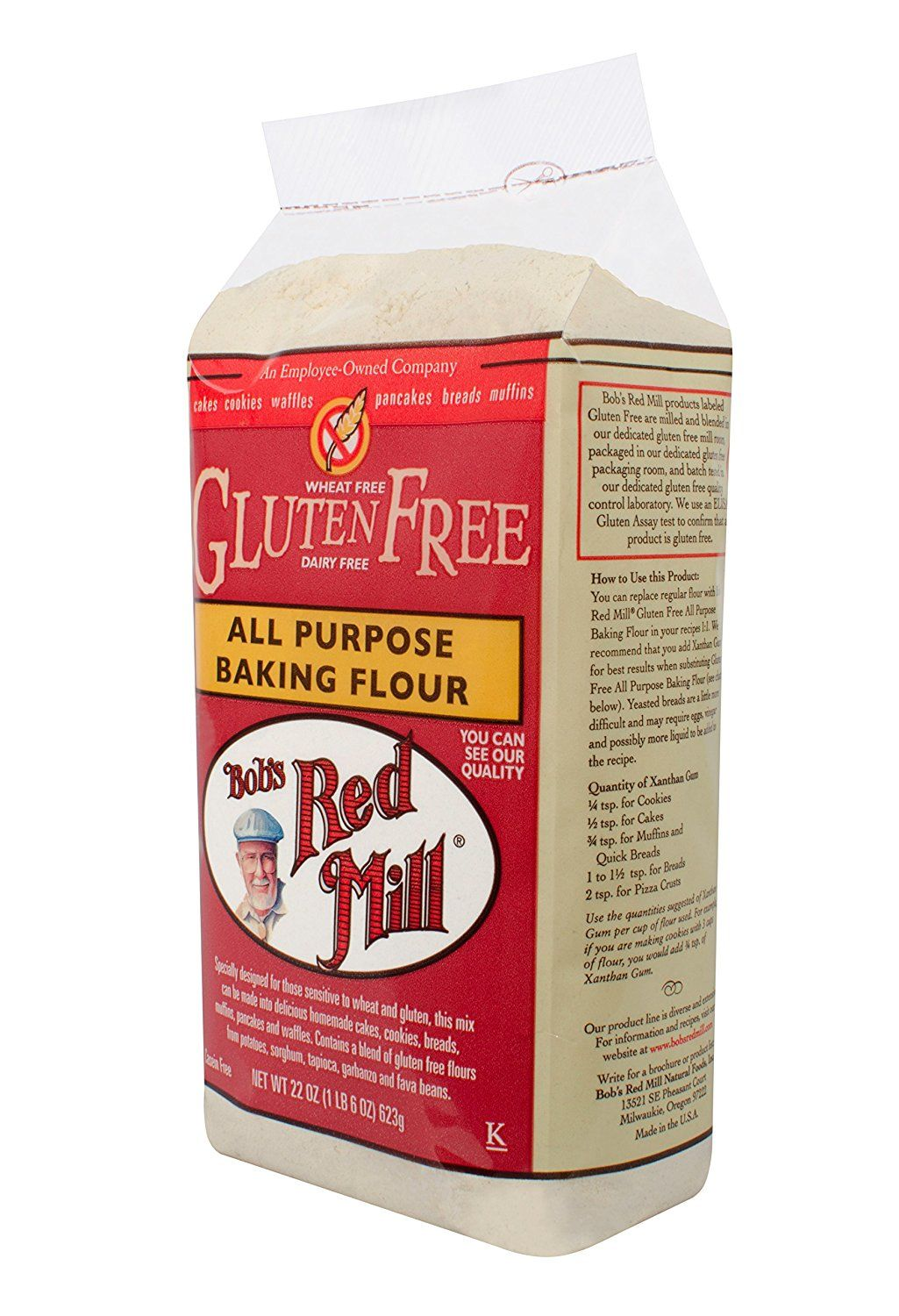 Bobs red mill baking flour gluten free 22 ounce new